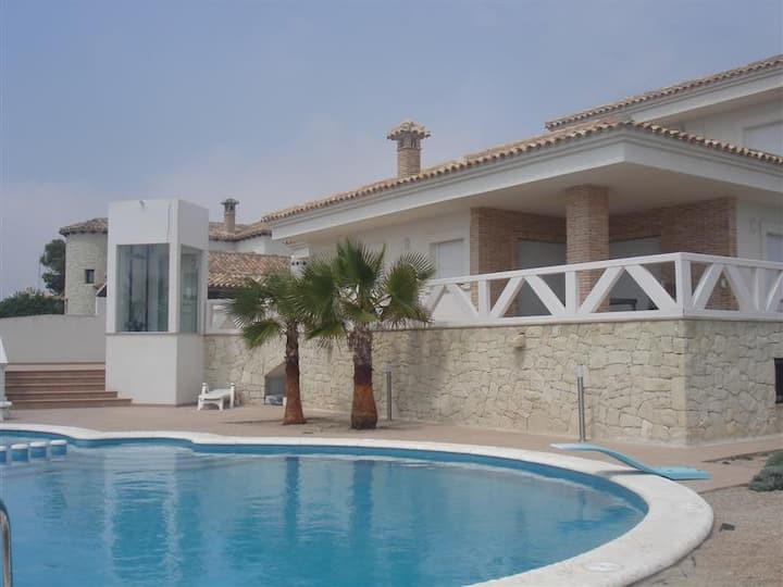 Luxury first line villa